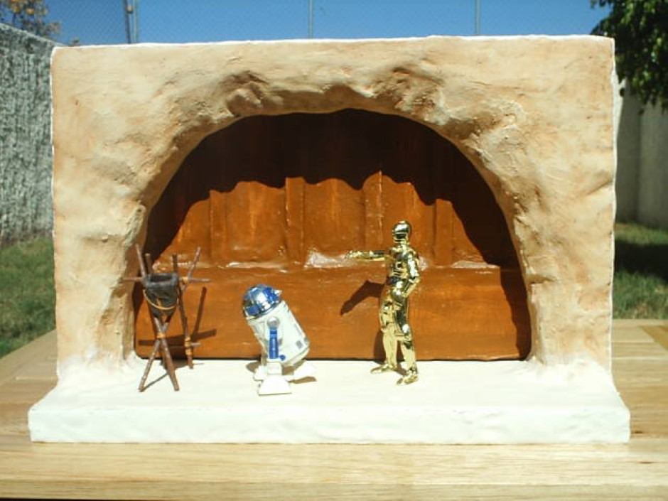 Diorama Jabba Palace Entrance Coscomomo